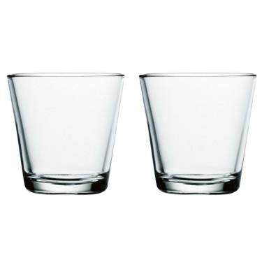Набор стаканов прозрачных (2шт в уп) 210 мл Kartio, iittala - 15026