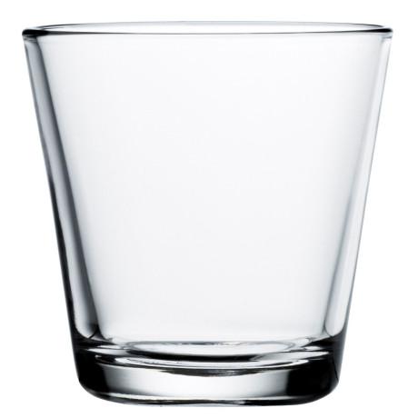 Стакан стеклянный прозрачный (2шт в уп) 210мл Kartio, Iittala - 15026