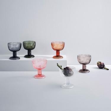 Креманка стеклянная розовая 14,5см Miranda, Iittala - 50916