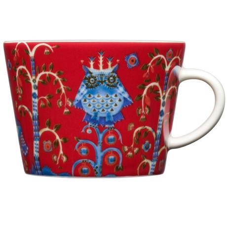 Чашка красная с рисунком 200мл Taika, iittala - 18208