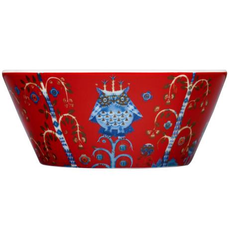 Миска красная с рисунком 300мл Taika, iittala - 27892