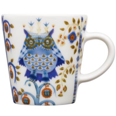 Чашка для эспрессо белая с рисунком 100мл Taika, iittala - 41732