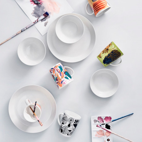 Набор тарелок белых Teema, iittala - 18754