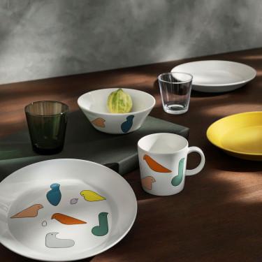 Тарелка фарфоровая медового цвета 17см Teema, iittala - 94673