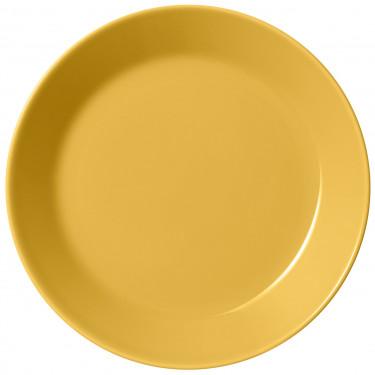 Тарелка фарфоровая медового цвета 17см Teema, iittala