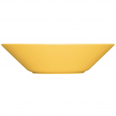 Тарелка глубокая фарфоровая медового цвета 21см Teema, iittala