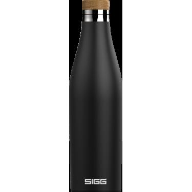 Бутылка для напитков Meridian черная 500мл, Sigg