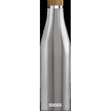 Бутылка для напитков Meridian серебряного цвета 500мл, Sigg