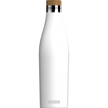 Бутылка для напитков Meridian белая 500мл, Sigg