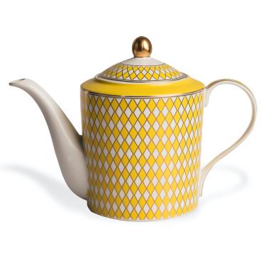 "Чайник ""Chess"" желто-зеленого цвета, Pols potten"