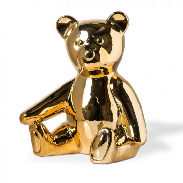 "Копилка ""Teddy"" золотого цвета, Pols potten - Q2053"
