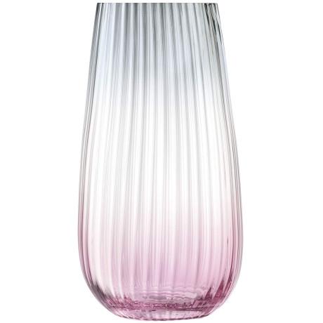 Ваза для цветов розово-серая 28см Dusk, LSA international - 95358