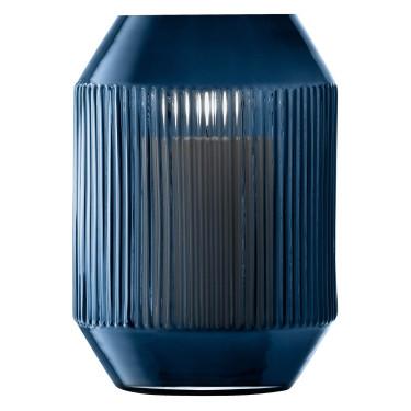 Ваза серо-синяя 26см Rotunda, LSA International