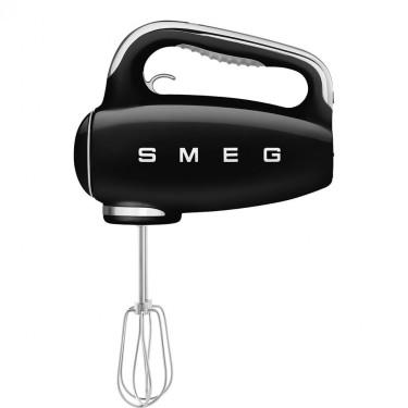 Ручной миксер стиль 50х черный, SMEG