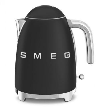 Чайник электрический стиль 50х черный матовый, SMEG