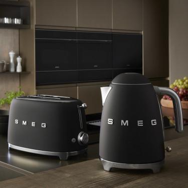Чайник электрический стиль 50х черный матовый, SMEG - Q4924