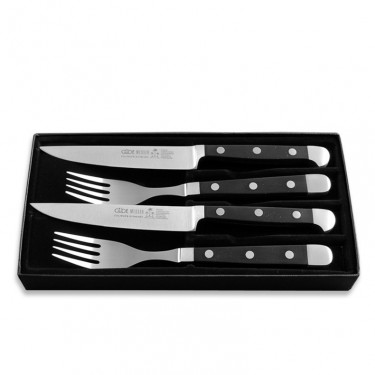 Набор для стейка (2 ножа + 2 вилки) Alpha, Gude