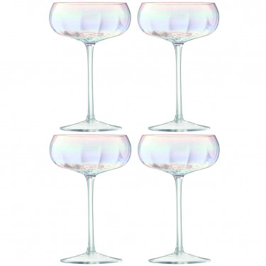 Набор бокалов для шампанского 300мл (4шт) Pearl, LSA international - Q6116