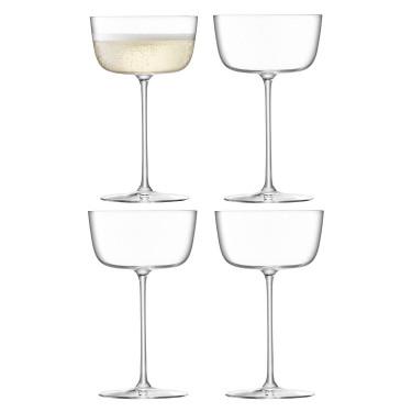 Набор бокалов для коктейлей 240мл (4шт) Borough, LSA international