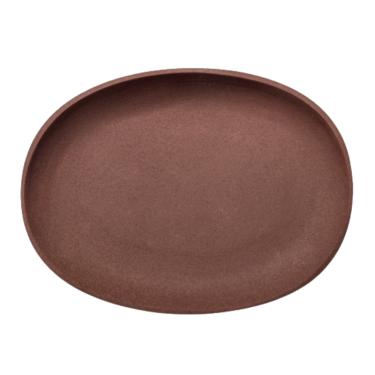 """Поднос коричневый 25см """"Greek"""", Pols potten"""
