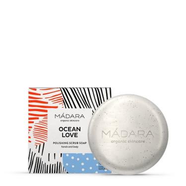 "Мыло-скраб ""Ocean Love"" 90г, Madara Cosmetics - Q1767"