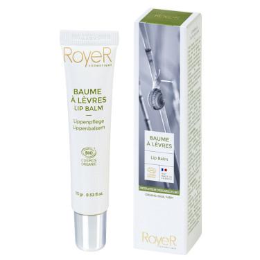 Бальзам для губ увлажняющий со свежим муцином улитки 15г, Royer Cosmetique - Q7276