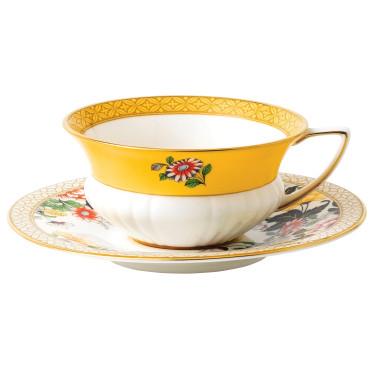 "Чашка с блюдцем ""Primrose"" Wonderlust, Wedgwood - Q6827"