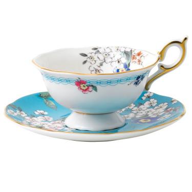 """Чашка с блюдцем """"Apple Blossom"""" Wonderlust, Wedgwood"""