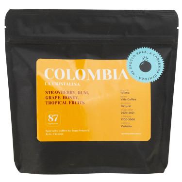 Кофе свежеобжаренный под эспрессо Колумбия Ла Кристалина 250г, SCbyIP - Q7040