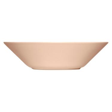 Тарелка глубокая пудровая Teema 21 см, iittala