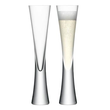 Набор бокалов для шампанского Moya 170 мл (2 шт. в уп) , LSA international - Q6118