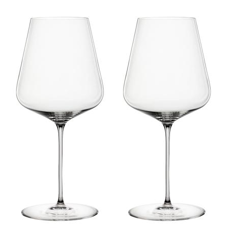 Набор бокалов для красного вина Бордо Definition 750 мл (2 шт. в уп), Spiegelau - Q7804