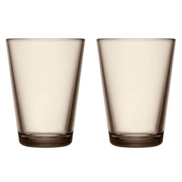 Набор стаканов коричневых Kartio 400 мл (2 шт. в уп), iittala