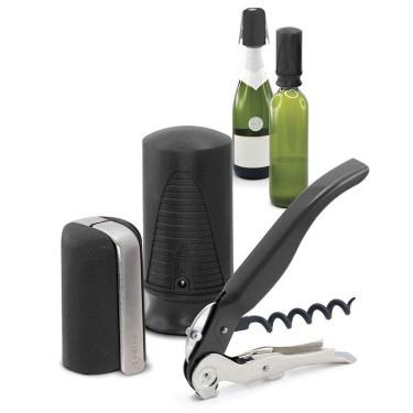 Набор для открытия и хранения вина (3 ед.), Pulltex