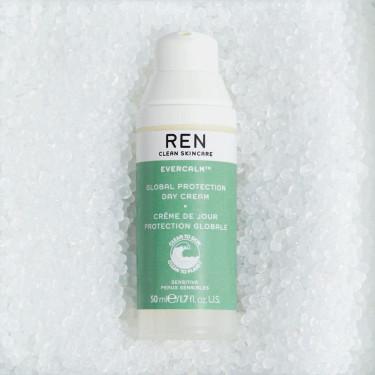 Крем для лица защитный дневной Global Evercalm 50мл, REN - Q9363