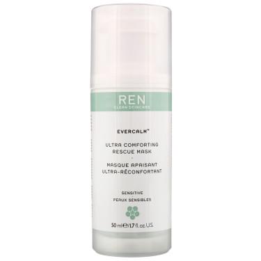 Маска для чувствительной кожи лица Evercalm 50мл, REN - Q9357
