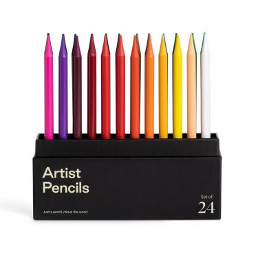 "Набор карандашей ""Artist"" (24 шт. в уп.), Karst - Q8865"