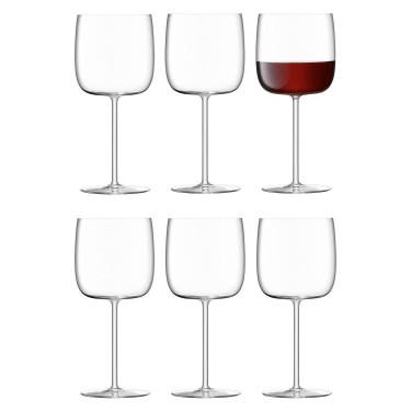 Набір келихів для вина Borough 450 мл (6 шт. в уп.), LSA international