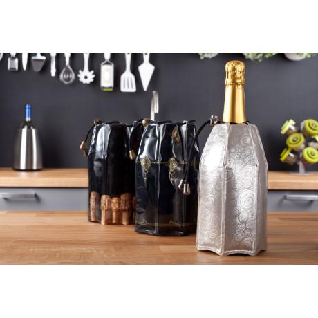 Охладитель для вина платиновый, Vacu Vin - 11091