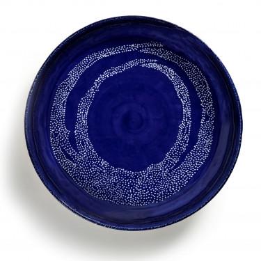 Тарелка для сервировки M голубовато-белая Feast by Ottolenghi, Serax - Q8819