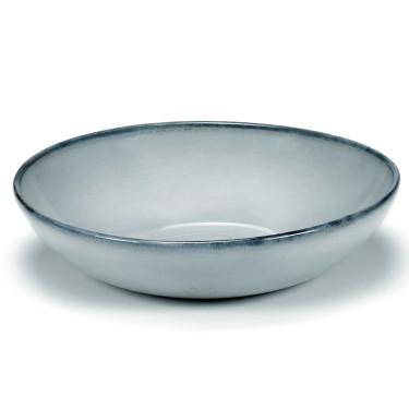 "Тарелка глубокая ""Pure"" голубая Pascale Naessens, Serax - Q8831"