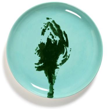 Тарелка M голубовато-зеленая Feast by Ottolenghi, Serax - Q8805