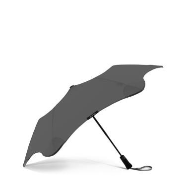 Зонт складной  Metro 2.0 угольного цвета, Blunt - Q9945