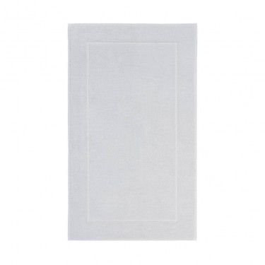 Ковер для ванной светло-серого цвета 60х100 см London, Aquanova - Q9741