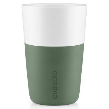Набор тамблеров для латте зеленого цвета 360 мл (2 шт. в уп.), Eva Solo