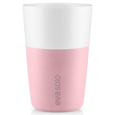 Набор тамблеров для латте цвета розовый кварц 360 мл (2 шт. в уп.), Eva Solo