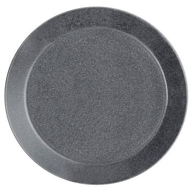 Тарелка Teema 17 см серая, iittala