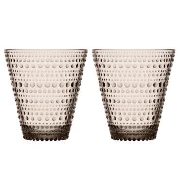 Набор стаканов коричневых Kastehelmi 300 мл (2 шт. в уп), iittala