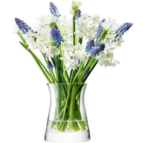 Ваза для цветов прозрачная 13см Flower, LSA international - 20294