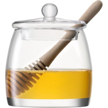 Банка для меда с ложкой 12,5см Serve, LSA international - 20320